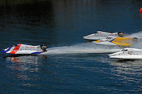 Start: Kevin Ladd (#41) breaks away from the field.......Howie Nichols (#4), Kris Shepard (#46), Lee Daniel (#2).Champ Boat Series Grand Prix of Augusta, Augusta, GA USA  May, 2007 ©F. Peirce Williams 2007  SST-120/F2..F. Peirce Williams .photography.P.O.Box 455 Eaton, OH 45320 USA.p: 317.358.7326  e: fpwp@mac.com..