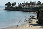 Cowell's Beach, Santa Cruz, CA. Frank Balthis