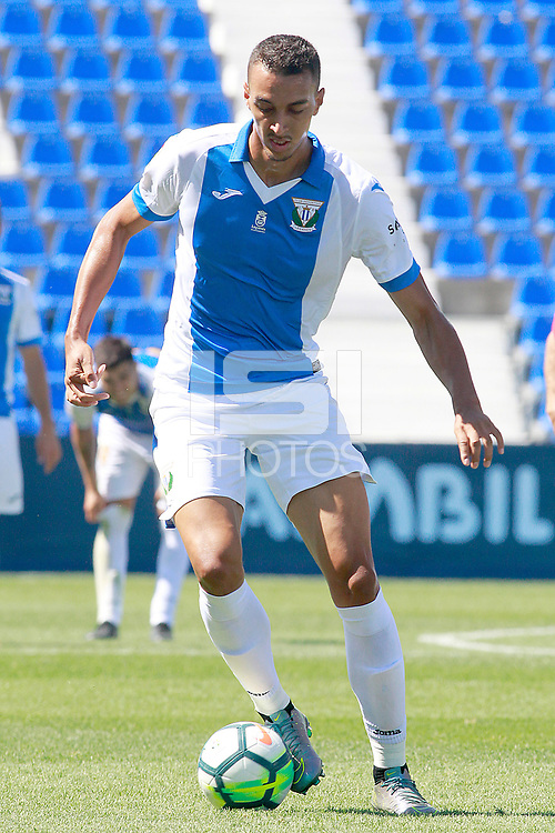 CD Leganes' Leonardo Blazquez during friendly match. August 12,2017.  *** Local Caption *** &copy; pixathlon<br /> Contact: +49-40-22 63 02 60 , info@pixathlon.de