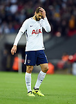 An unhappy Fernando Llorente of Tottenham Hotspur during the premier league match at the Wembley Stadium, London. Picture date 16th September 2017. Picture credit should read: Robin Parker/Sportimage