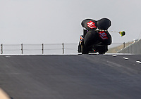Jul. 19, 2014; Morrison, CO, USA; NHRA finny car driver Terry Haddock during qualifying for the Mile High Nationals at Bandimere Speedway. Mandatory Credit: Mark J. Rebilas-