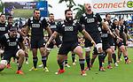 Ben May (L), Akira Ioane, Elliot Dixon, Rieko Ioane, Charlie Ngatai, Blade Thomson, Joe Royal, Hayden Triggs. Maori All Blacks vs. Fiji. Suva. MAB's won 27-26. July 11, 2015. Photo: Marc Weakley
