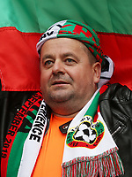 A Bulgaria fan<br /> <br /> Photographer Rob Newell/CameraSport<br /> <br /> UEFA European Championship Qualifying Group A - England v Bulgaria - Saturday 7th September 2019 - Wembley Stadium - London<br /> <br /> World Copyright © 2019 CameraSport. All rights reserved. 43 Linden Ave. Countesthorpe. Leicester. England. LE8 5PG - Tel: +44 (0) 116 277 4147 - admin@camerasport.com - www.camerasport.com