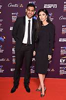 Amir Khan &amp; wife Faryal Makhdoom  at the BT Sport Industry Awards 2017 at Battersea Evolution, London, UK. <br /> 27 April  2017<br /> Picture: Steve Vas/Featureflash/SilverHub 0208 004 5359 sales@silverhubmedia.com