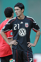 DC United forward Pablo Hernandez (21)  The Columbus Crew defeated DC United 1-0 at RFK Stadium, Saturday September 4, 2010.