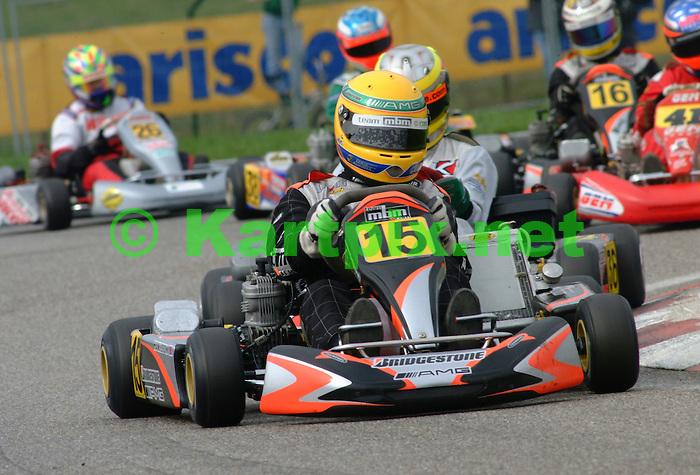 No 15 Lewis Hamiton<br /> No 16 Nico Rosberg<br /> No 26 Simon Short