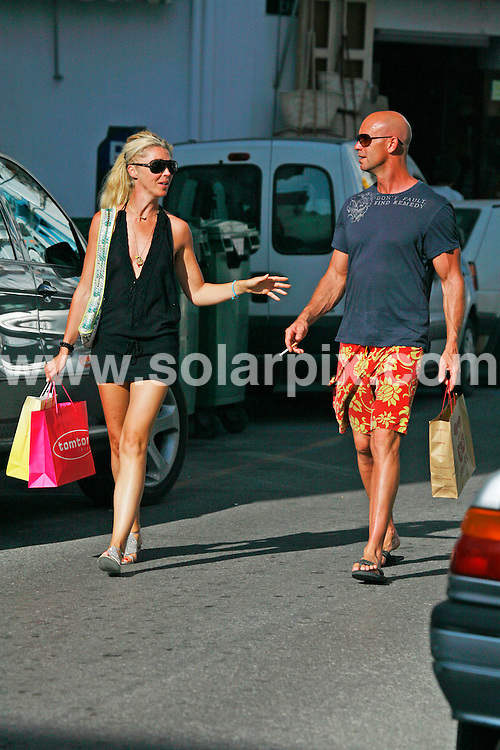**ALL ROUND EXCLUSIVE PICTURES FROM SOLARPIX.COM**.**WORLDWIDE SYNDICATION RIGHTS**.Tamara Beckwith out shopping in Ibiza Town this week. After a look around the shops, Tamara met up with a mystery man and the couple wandered off laughing and joking with each other. There was no sign of her fiance Giorgio Veroni on the trip...This pic: Tamara Beckwith and friend..JOB REF:  4404   GMT    DATE: 30_07_2007.**MUST CREDIT SOLARPIX.COM OR DOUBLE FEE WILL BE CHARGED* *UNDER NO CIRCUMSTANCES IS THIS IMAGE TO BE REPRODUCED FOR ANY ONLINE EDITION WITHOUT PRIOR PERMISSION*