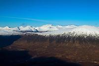 Beinn a' Chulaiste and Ben Nevis from the Munro of Meall a' Bhuiridh, Highland