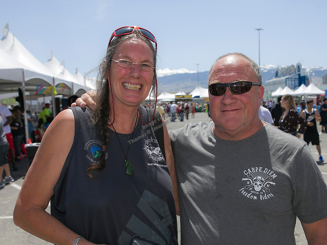 Sue and Rob Corry during the Cinco de Mayo Festival at the Grand Sierra Resort in Reno on Saturday, May 4, 2019.