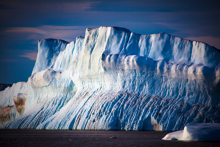 Humboldt Glacier, Kane Basin in the far northwest of Arctic Greenland, is the widest glacier in the northern Hemisphere.
