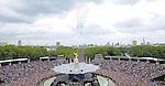 """QUEEN DIAMOND JUBILEE.The massed crowds around Buckingham Palace that turned out to witness the procession and flypast in celebration of the Queen's Diamond Jubilee_5th June 2012.Mandatory Credit Photo: ©J Doak/NEWSPIX INTERNATIONAL..**ALL FEES PAYABLE TO: """"NEWSPIX INTERNATIONAL""""**..IMMEDIATE CONFIRMATION OF USAGE REQUIRED:.Newspix International, 31 Chinnery Hill, Bishop's Stortford, ENGLAND CM23 3PS.Tel:+441279 324672  ; Fax: +441279656877.Mobile:  07775681153.e-mail: info@newspixinternational.co.uk"""