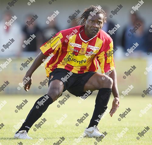 2009-06-24 / Voetbal / KV Mechelen seizoen 2009-2010 / Aloys Nong..Foto: Maarten Straetemans (SMB)