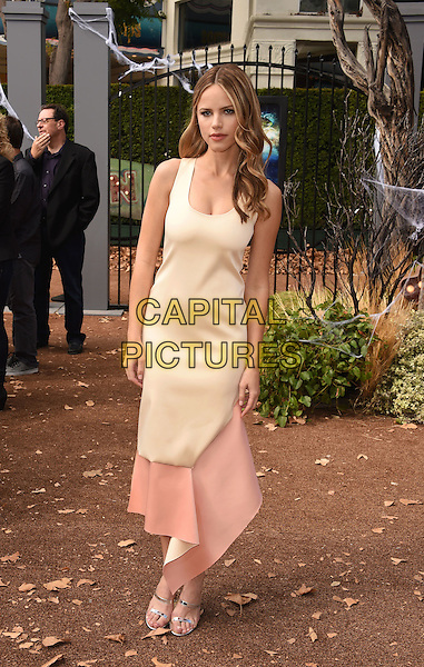 WESTWOOD, CA - OCTOBER 04: Actress Halston Sage attends the Premiere Of Sony Entertainment's 'Goosebumps' at the Regency Village Theater on October 4, 2015 in Westwood, California.<br /> CAP/ROT/TM<br /> &copy;TM/ROT/Capital Pictures