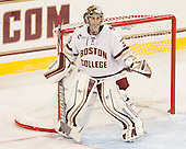 Katie Burt (BC - 33) -The Boston College Eagles defeated the visiting UConn Huskies 4-0 on Friday, October 30, 2015, at Kelley Rink in Conte Forum in Chestnut Hill, Massachusetts.