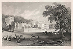 Chatsworth House Derbyshire.     Date: 1836     Source: Engraving by J. Saddler after T.Allom