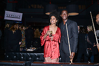 NEW YORK CITY - MARCH 15: Zazie Beetz and Damson Idris attend FX Networks 2018 Annual All-Star Bowling Party at Lucky Strike Manhattan on March 15, 2018 in New York City. (Photo by Anthony Behar/FX/PictureGroup)