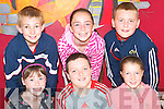 Taking part in the Listowel KDYS summer camp on Thursday last were front l-r Shiann Enright, Donnacha Brosnan and Aislinn Kelliher, Listowel. Back l-r Jack Joy, Niamh Enright and Calum Finnegan, Listowel.   Copyright Kerry's Eye 2008