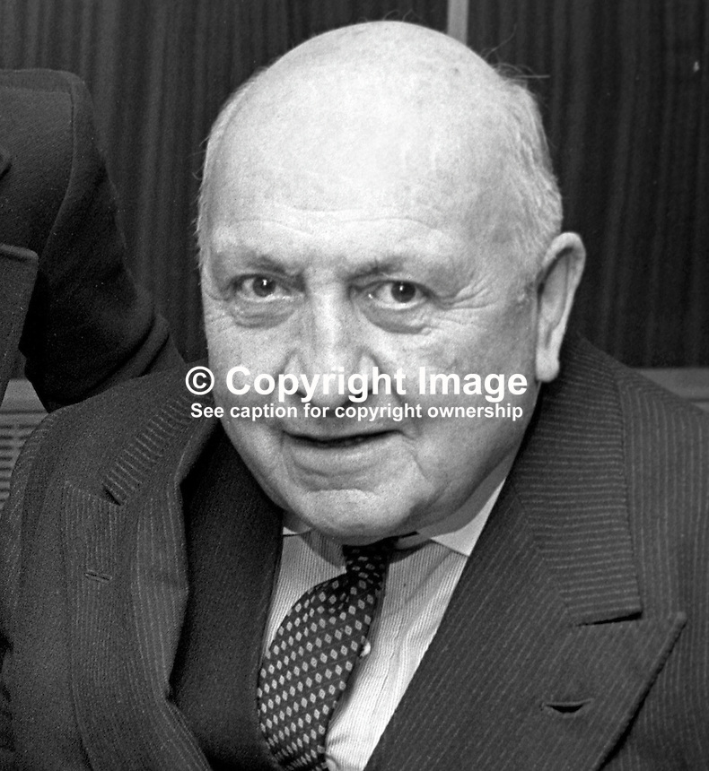 Commodore Rives Shillington, N Ireland, UK, involved in organisation of Circuity of Ireland motor rally. April 1976. 197604120186RS<br /> <br /> Copyright Image from Victor Patterson, 54 Dorchester Park, Belfast, UK, BT9 6RJ<br /> <br /> t: +44 28 90661296<br /> m: +44 7802 353836<br /> vm: +44 20 88167153<br /> e1: victorpatterson@me.com<br /> e2: victorpatterson@gmail.com<br /> w: www.victorpatterson.com<br /> <br /> For my Terms and Conditions of Use go to www.victorpatterson.com