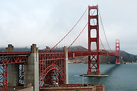 Walking Across The Golden Gate Bridge | October 2008