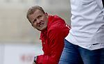 Elversbergs Co-Trainer Bernd Heemsoth  beim Spiel in der Regionalliga, SV Elversberg &ndash;  1. FSV Mainz 05 II.<br /> <br /> Foto &copy; PIX-Sportfotos *** Foto ist honorarpflichtig! *** Auf Anfrage in hoeherer Qualitaet/Aufloesung. Belegexemplar erbeten. Veroeffentlichung ausschliesslich fuer journalistisch-publizistische Zwecke. For editorial use only.