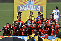 CUCUTA - COLOMBIA, 05-05-2019: Jugadores de Cúcuta posan para una foto previo al encuentro por la fecha 20 de la Liga Águila I 2019 entre Cúcuta Deportivo y Atlético Junior jugado en el estadio General Santander de la ciudad de Cúcuta. / Players of Cucuta pose to a photo prior the match between Cucuta Deportivo and Atletico Junior for the date 20 of the Liga Aguila I 2019 played at the General Santander stadium in Cucuta city. Photo: VizzorImage / Edgar Cusguen / Cont