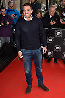 Jamie Lomas arriving for TRIC Awards 2018 at the Grosvenor House Hotel, London, UK. <br /> 13 March  2018<br /> Picture: Steve Vas/Featureflash/SilverHub 0208 004 5359 sales@silverhubmedia.com