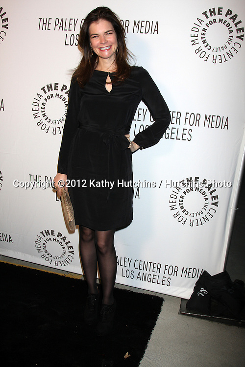 LOS ANGELES - OCT 22:  Betsy Brandt arrives at  the Paley Center for Media Annual Los Angeles Benefit at The Lot on October 22, 2012 in Los Angeles, CA