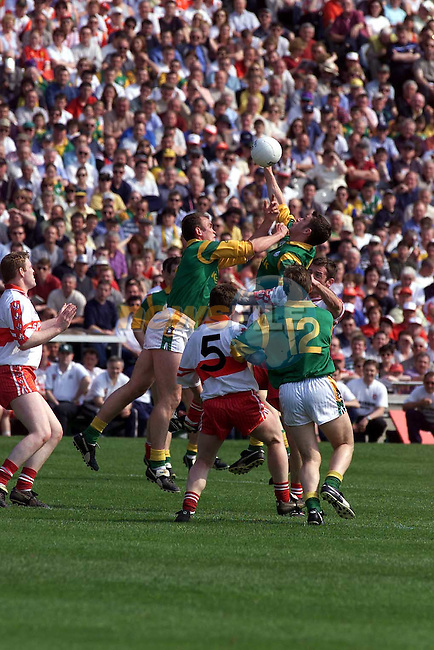 Action from the Meath V Darry  match in Croke Park.Pic Fran Caffrey Newsfile..