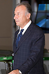 """Japan national football team, Alberto Zaccheroni, June 27, 2014, Chiba, Japan - Alberto Zaccheroni arrives at Narita International Airport with members of the Japan national football team. Members of the Japan national football team arrives at Narita with a disappointed look on their faces. They couldn't advance to the final 16 in """"2014 FIFA World Cup Brazil"""" and came back earlier. (Photo by Rodrigo Reyes Marin/AFLO)"""