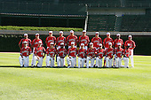 August 17 2008:  Team One during the 2008 Under Armour All-American Game at Wrigley Field in Chicago, Illinois.  (Copyright Mike Janes Photography)