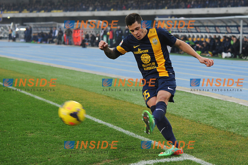 Juan Iturbe Verona <br /> Verona 12-01-2014 Stadio Bentegodi - Football Calcio Serie A 2013/2014 Hellas Verona - Napoli Foto Andrea Staccioli / Insidefoto
