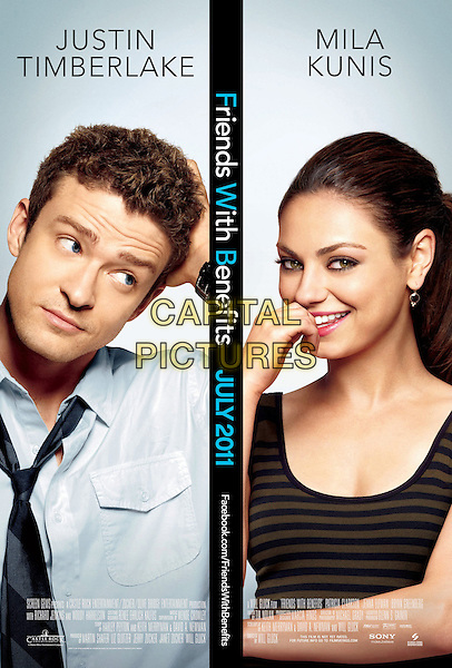 POSTER ART.in Friends with Benefits .*Filmstill - Editorial Use Only*.CAP/FB.Supplied by Capital Pictures.
