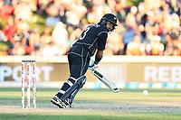 New Zealand's Ross Taylor batting. New Zealand Blackcaps v England. One Day International Cricket. Seddon Park, Hamilton, New Zealand on Sunday 25 February 2018.<br /> <br /> Copyright photo: &copy; Bruce Lim / www.photosport.nz