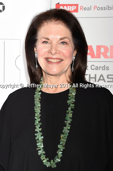 BEVERLY HILLS, CA - FEBRUARY 08: Committee member Sherry Lansing attends AARP's Movie For GrownUps Awards at the Regent Beverly Wilshire Four Seasons Hotel on February 8, 2016 in Beverly Hills, California.