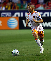 Wade Barrett in the Real Salt Lake v Houston 0-0 draw win at Rio Tinto Stadium in Sandy, Utah on August 15, 2009