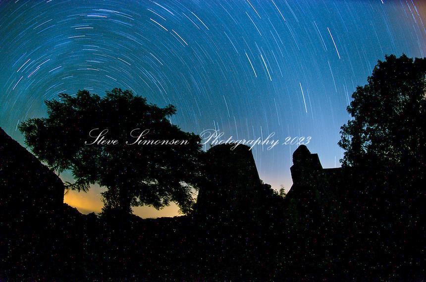 Annaberg on a New Moon.Virgin Islands National Park.St. John.U.S. Virgin Islands