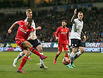 Steven Gerrard of Liverpool takes a shot on goal - FA Cup Fourth Round replay - Bolton Wanderers vs Liverpool - Macron Stadium  - Bolton - England - 4th February 2015 - Picture Simon Bellis/Sportimage