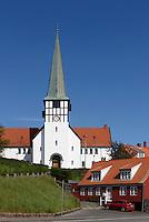 Nikolai-Kirche in R&oslash;nne, Insel Bornholm, D&auml;nemark, Europa<br /> Nikolai Church, Roenne, Isle of Bornholm, Denmark
