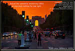 France, Paris. Avenue des Champs-Élysées.<br />