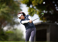 Hanee Song, during her first round on Sunday at the NZPWG Women's Pro-Am in Memory of Anita Boon, played at the Remuera Golf Course.