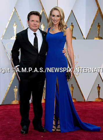26.02.2017; Hollywood, USA: MICHAEL J. FOX<br /> attends The 89th Annual Academy Awards at the Dolby&reg; Theatre in Hollywood.<br /> Mandatory Photo Credit: &copy;AMPAS/NEWSPIX INTERNATIONAL<br /> <br /> IMMEDIATE CONFIRMATION OF USAGE REQUIRED:<br /> Newspix International, 31 Chinnery Hill, Bishop's Stortford, ENGLAND CM23 3PS<br /> Tel:+441279 324672  ; Fax: +441279656877<br /> Mobile:  07775681153<br /> e-mail: info@newspixinternational.co.uk<br /> Usage Implies Acceptance of Our Terms &amp; Conditions<br /> Please refer to usage terms. All Fees Payable To Newspix International