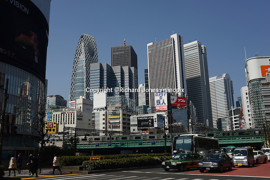 Buildings in Shinjuku