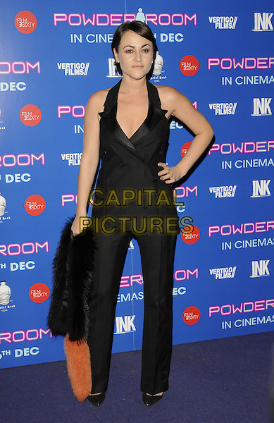 LONDON, ENGLAND - NOVEMBER 27: Jaime Winstone attends the &quot;Powder Room&quot; UK film premiere, Cineworld Haymarket on November 27,  2013 in London, England, UK.<br /> CAP/CAN<br /> &copy;Can Nguyen/Capital Pictures