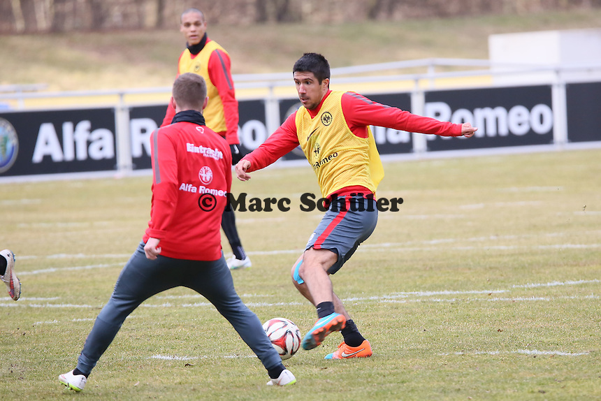 Slobodan Medojevic (Eintracht) - Eintracht Frankfurt Training, Commerzbank Arena