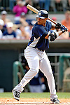 16 March 2007: New York Yankees infielder Robinson Cano in action against the Houston Astros at Osceola County Stadium in Kissimmee, Florida...Mandatory Photo Credit: Ed Wolfstein Photo