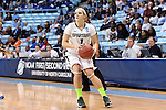 23 March 2014: Michigan State's Tori Jankoska. The Michigan State University Spartans played the Hampton University Lady Pirates in an NCAA Division I Women's Basketball Tournament First Round game at Cameron Indoor Stadium in Durham, North Carolina. Michigan State won the game 91-61.