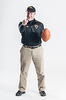 NWA Democrat-Gazette/ANTHONY REYES • @NWATONYR<br /> Danny Abshier, head coach for Prairie Grove, is the All-NWADG Coach of the Year photographed Wednesday, Dec. 16, 2015 at the Northwest Arkansas Democrat-Gazette office in Springdale.