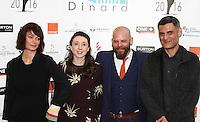 Marianne Denicourt ,James kermack,Philippe Boudoux - 27e Festival du film Britannique de Dinard - France, 29/09/2016