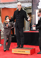 JAN 07 Sam Elliott Hand And Footprint Ceremony