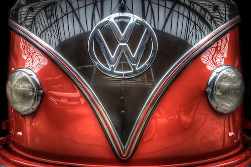 Classic car. VW